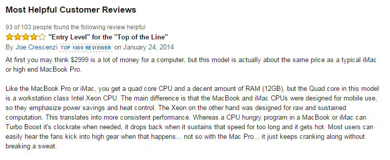 mac pro review